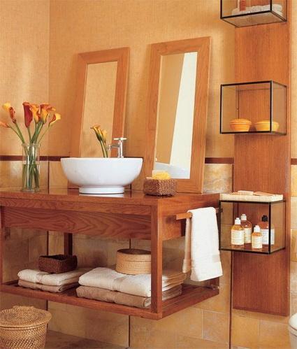 Wood Paneling Waterproof In Bathrooms 7