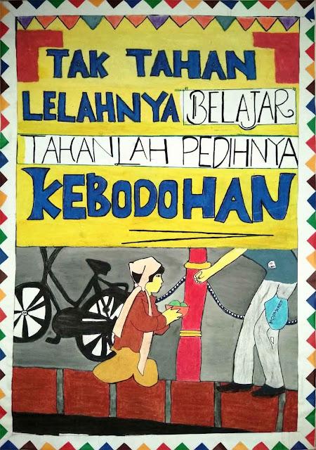 Contoh Gambar Poster Yang Penuh Makna Dengan Banyak Tema
