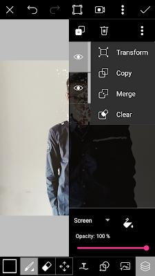 Cara Edit Foto Menjadi Efek Dispresion/Disintegration Menggunakan PicsArt