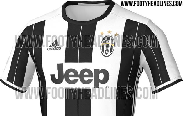 """569776226f O portal """"Footy Headlines"""" desvendou esta semana a camisola principal da  Juventus para a próxima temporada, a segunda desde que o emblema italiano  se juntou ..."""
