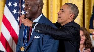 President Obama honors Michael Jordan