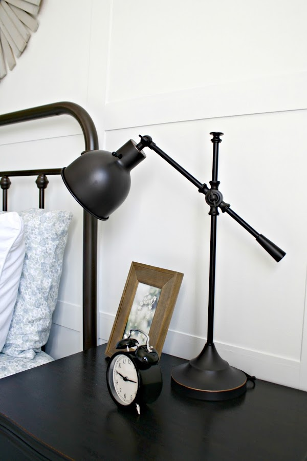 swing arm lamp bronze