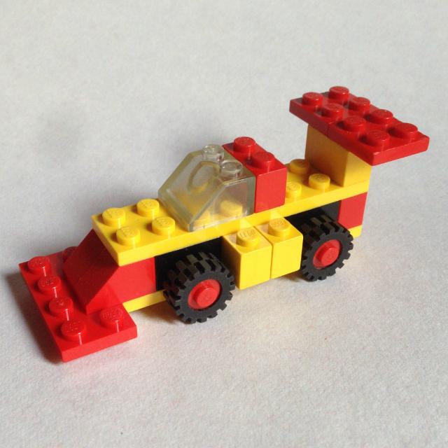 Lego 1606 - Forma-1 versenyautó