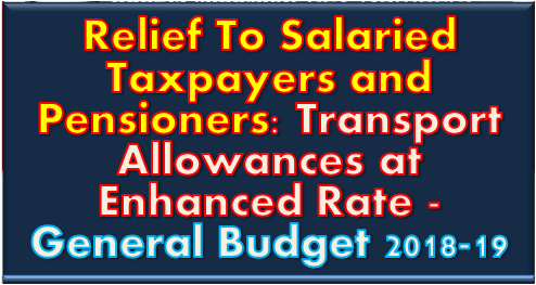 relief-to-salaried-taxpayers-and-pensioners-general-budget-2018-19-paramnews