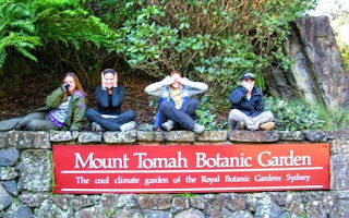 Mount Tomah Botanic Garden Sign