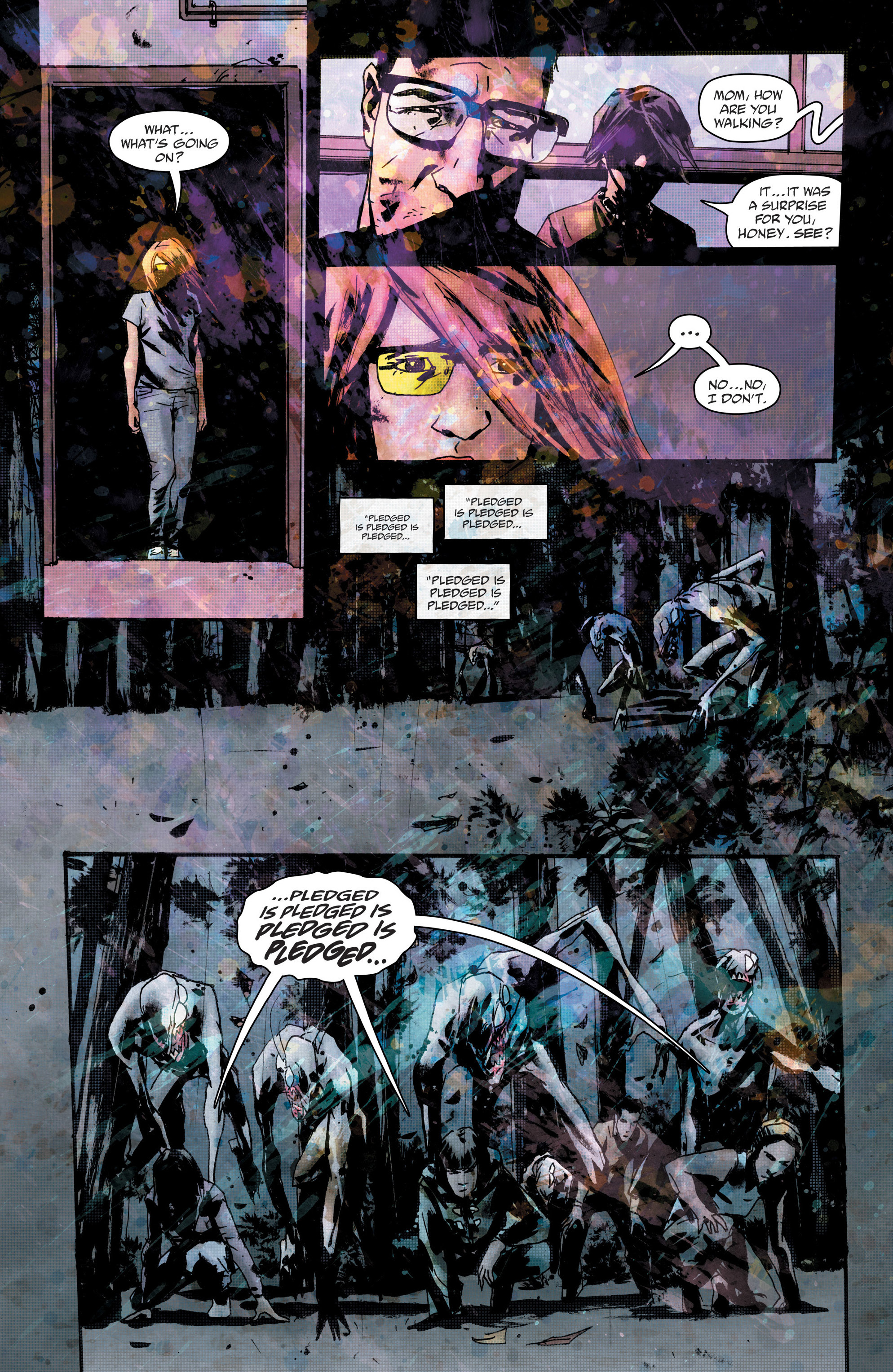 Read online Wytches comic -  Issue #6 - 23