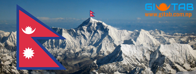 Unique Triangular Flag of Nepal