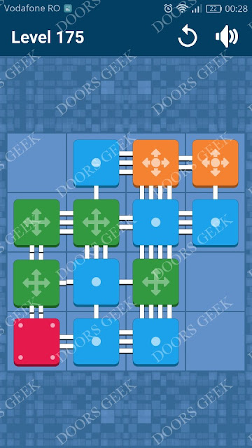 Connect Me - Logic Puzzle Level 175 Solution, Cheats, Walkthrough for android, iphone, ipad and ipod