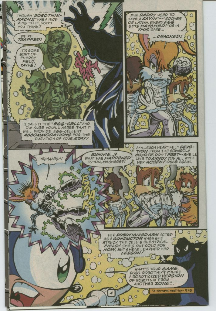 Read online Sonic The Hedgehog comic -  Issue #75 - 6