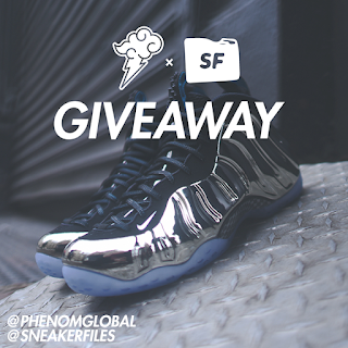 Win The Chromeposites Nike Foamposite Giveaway