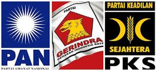 PAN, Gerindra, PKS Resmi Koalisi di Pilgub Jabar 2018