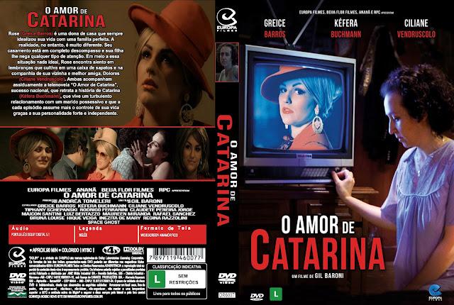 Capa DVD O Amor De Catarina