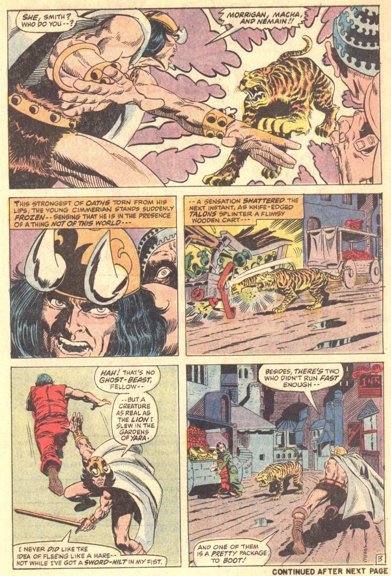 Conan the Barbarian (1970) Issue #5 #17 - English 4