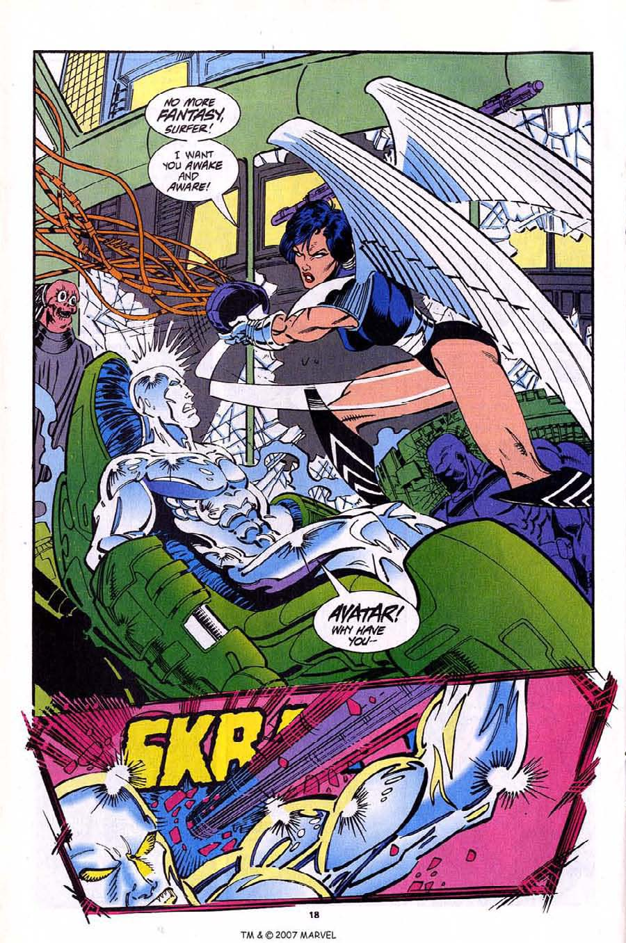 Read online Silver Surfer (1987) comic -  Issue #92 - 20