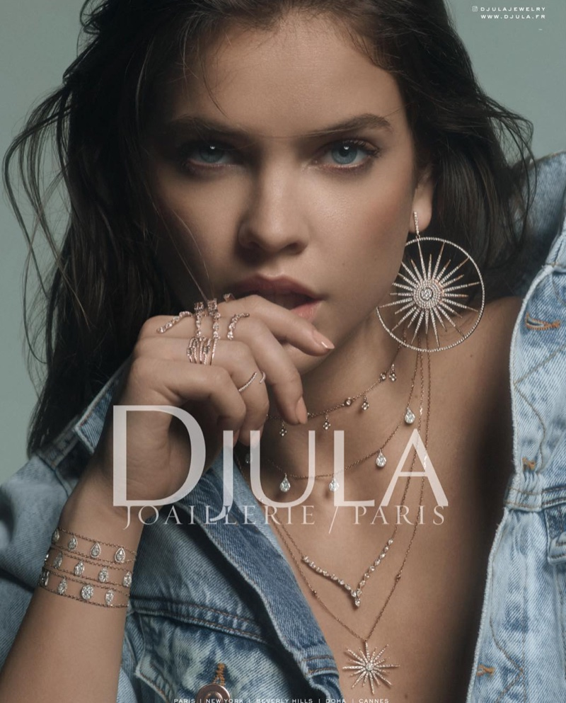 Barbara Palvin for Djula Jewelry