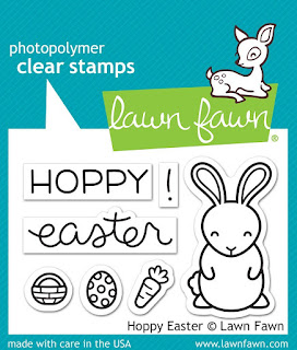 Lawn Fawn - Hoppy Easter Stamp Set