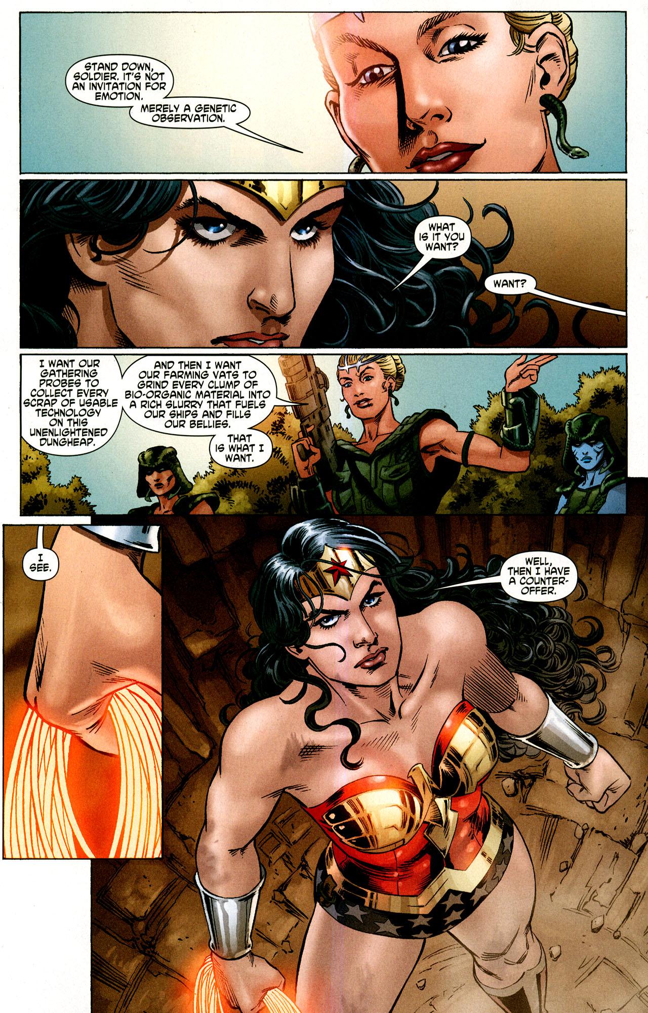 Read online Wonder Woman (2006) comic -  Issue #43 - 6