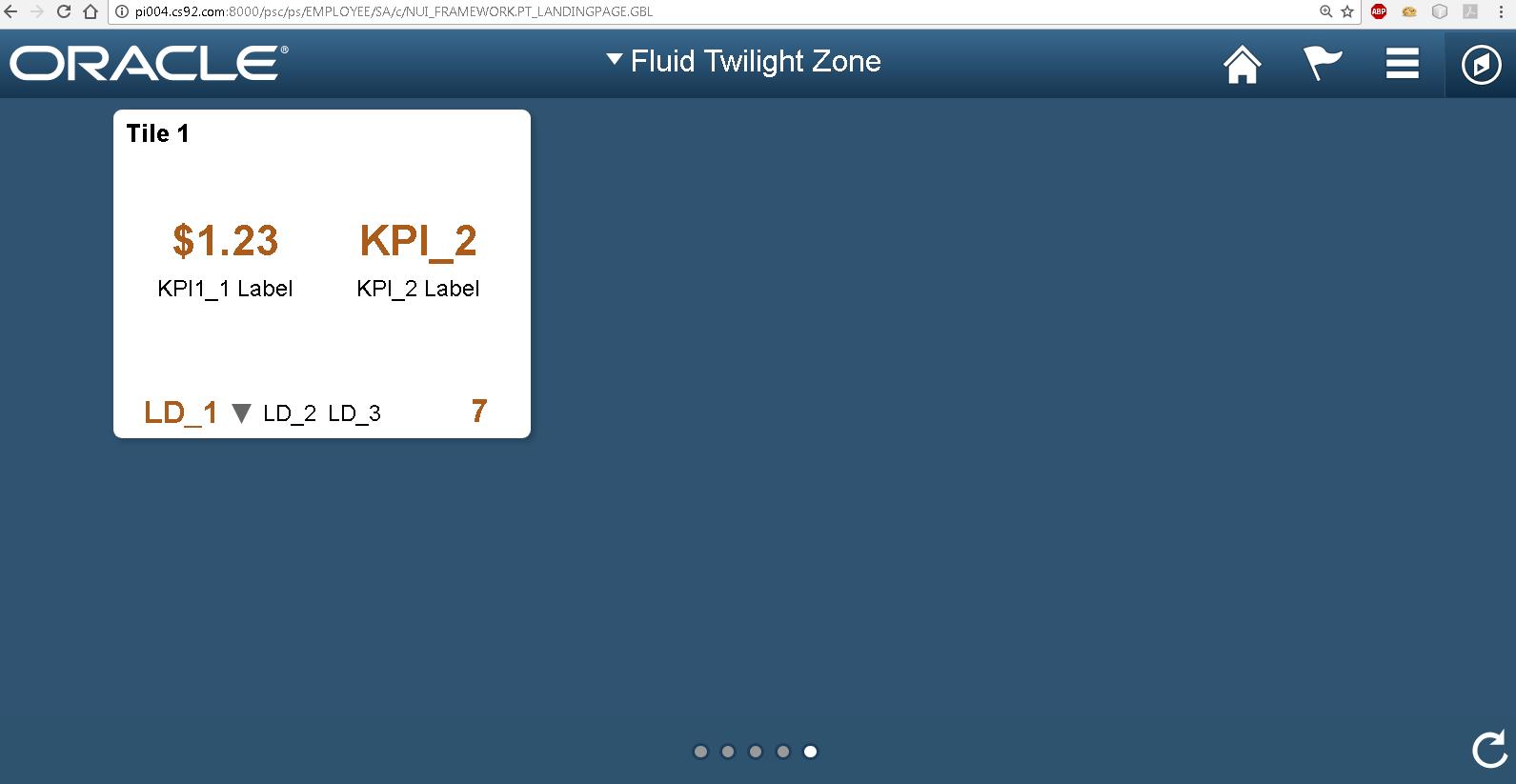 Sasank's PeopleSoft Log: Fluid UI - Tile Wizard API for Dynamic Tile