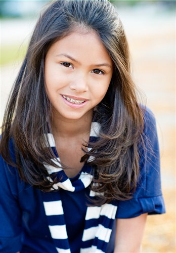 Young Pre Teen Girl Female Woman Torso Vertical Format: Barbizon Midwest Review