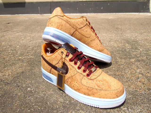 "63c687d7c8 KIXIONARY WORLD: Nike Air Force 1 Bespoke ""Cork"" Custom By @SLOVA_DON"