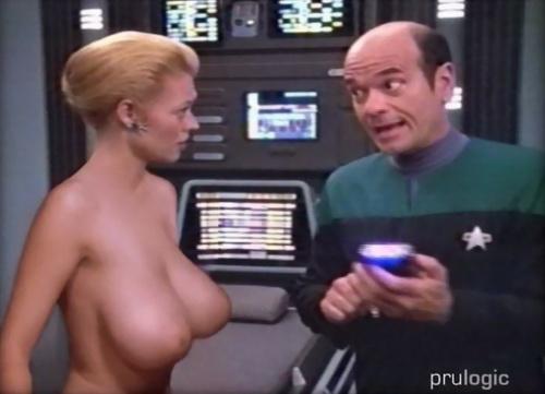 Nude pictures star fake women trek voyager