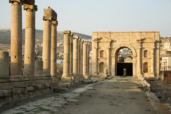 Puerta Norte (Jerash, Jordania)