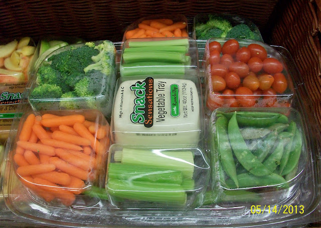 veggie tray in store