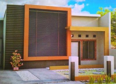 bentuk atap rumah modern kontemporer