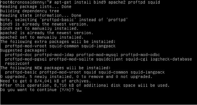 ukk,tkj,2017,paket 1,pembahasan menginstall paket pada server,service install
