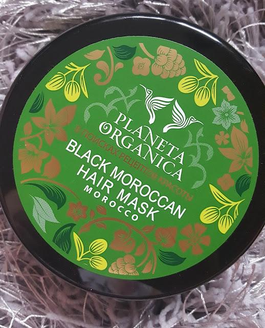 Planeta organica marokańska maska do włosów+analiza