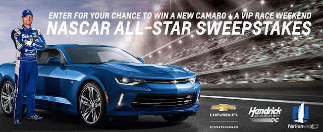 NASCAR ALL-STAR CAMARO SWEEPSTAKES