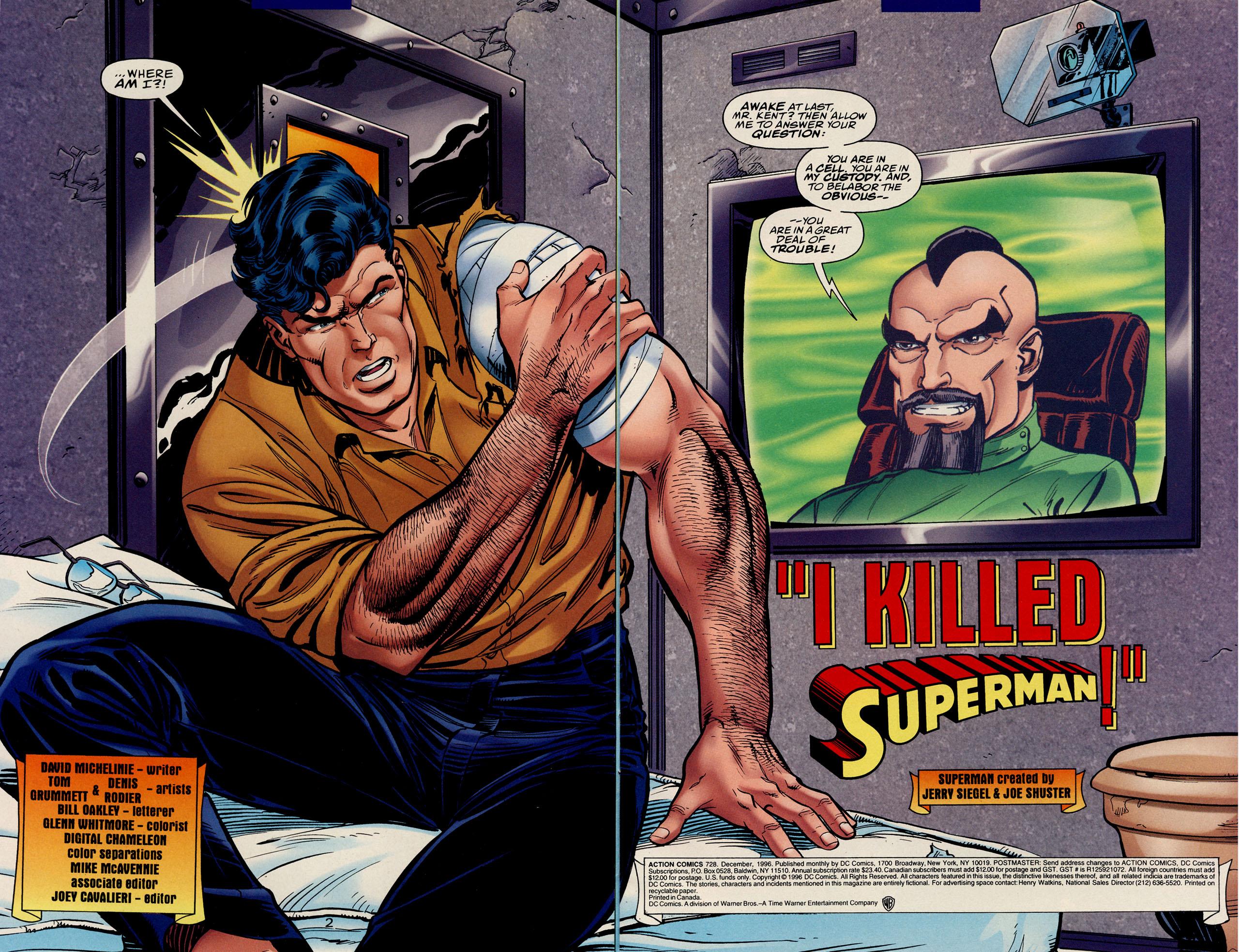Action Comics (1938) 728 Page 3