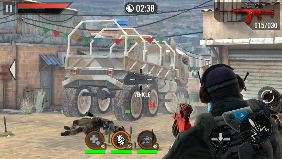 frontline commando mod apk 2018