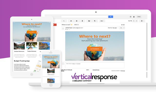 Herramienta gratis para hacer Email Marketing Vertical Response