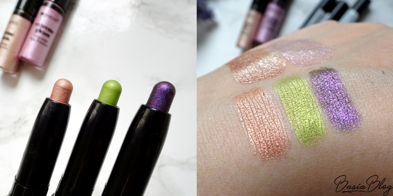 My Secret Holographic Make Up Pencil 104 Copper, 103 Lime, 105 Purple, cienie w kredce My Secret, kredki My Secret
