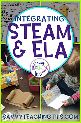 This is a very straightforward approach to STEAM and ELA in the classroom.  I love how Science, Technology Engineering, Math, Arts, Reading, Writing and Speaking can all be combined in one package.
