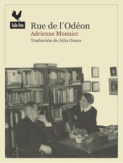 Rue de l'Odéon / Adrienne Monnier