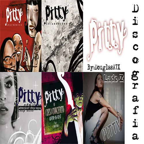 Pitty Discografia pitty