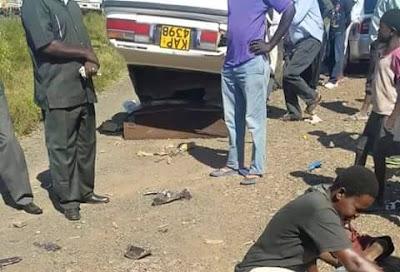 Five School Children die at Awasi Accident