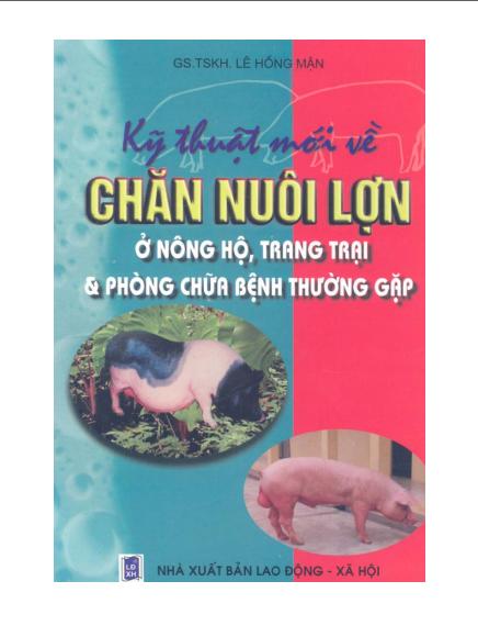 Kỹ thuật mới về chăn nuôi lợn