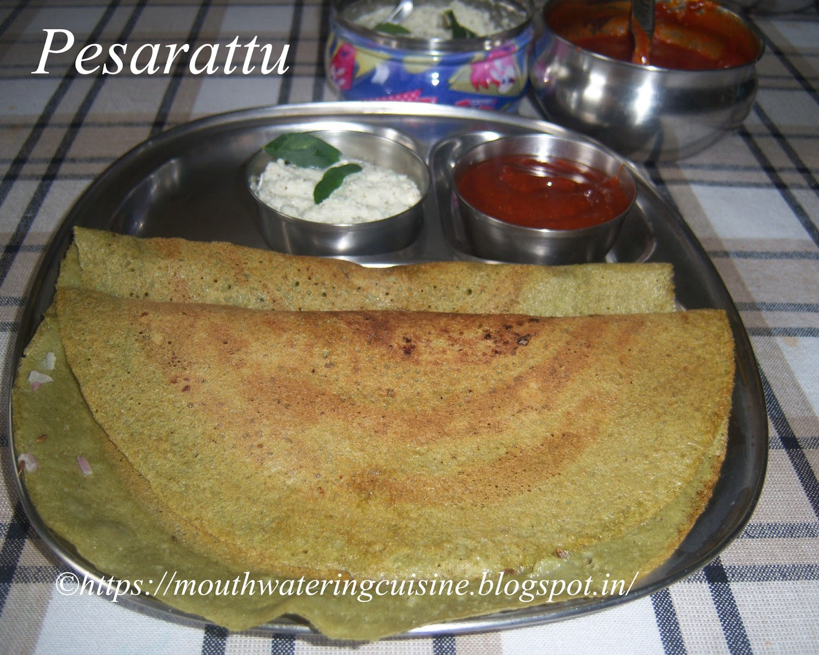 how to make dosa with dal