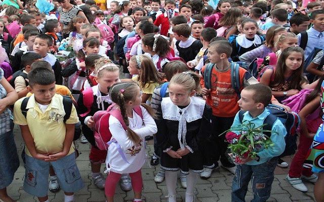 First day of School in Albania, emotions and problems