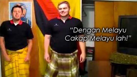 Wanita Berang Melayu Cakap Bahasa Asing Dengan Melayu