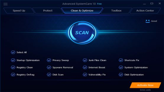 Advanced SystemCare 10.0.3.6 Screenshot 1