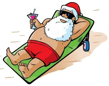 Christmas In July Santa Clipart.Jared Unzipped Where Did Christmas In July Come From