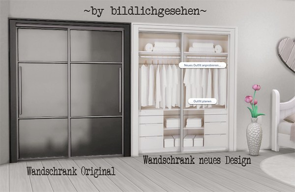 Sims 4 Cc S The Best Closet And Wooden Bed Recolors By