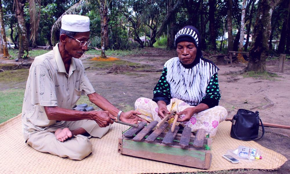 Alat Musik Celempong Khas Aceh