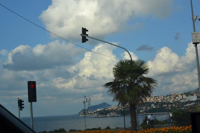 Zonguldak'a girerken.