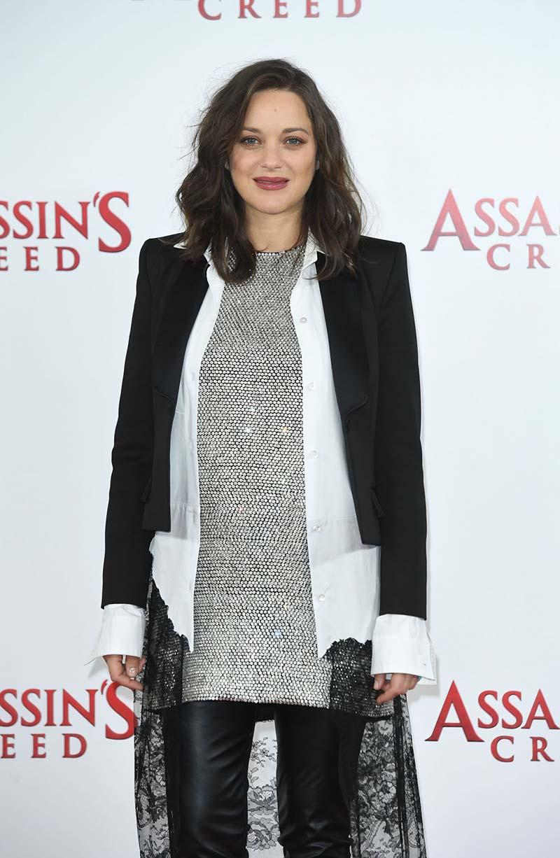 Marion Cotilla - Photocall pour le film Assassin's Creed, à Londres, le 8 Décembre 2016
