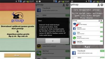 Getnap Tawarkan Download Game Gratis dan Dapat Bonus Pulsa